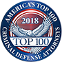America's Top 100 Criminal Defense Attorneys 2018